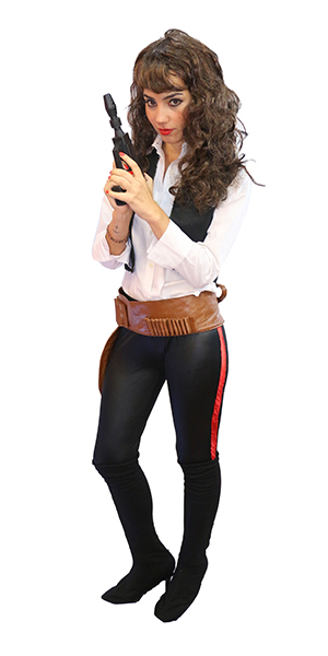Han Solo Mujer